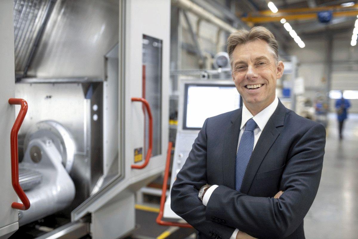 Vorstand der Celler Ecoroll AG ist IHK-Innovationsbotschafter – Die Celler Ecoroll Ag stellt Walzen her, die Metalloberflächen veredeln