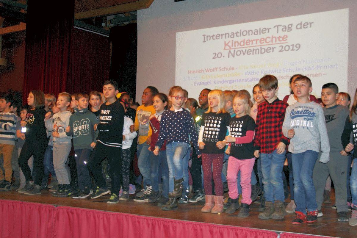 Würdiger Abschluss des Kinderrechtejahrs in Bergen