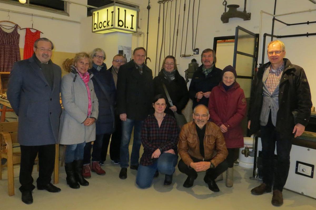 WG-Weihnachtsfeier im Otto-Haesler-Museum