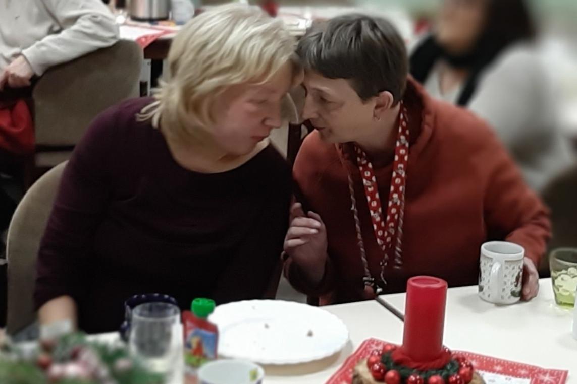 Weihnachtsfeier der Behindertengruppe Wathlingen/Flotwedel