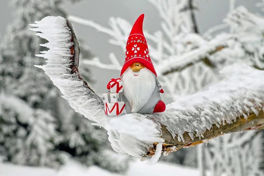 Der Weihnachtsmann lädt ein