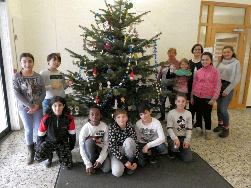 Wichtel und Holzschneemänner – Kinder basteln Weihnachtsbaumschmuck