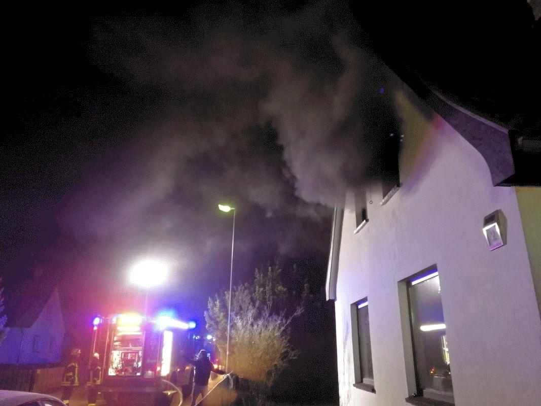Zimmerbrand, Menschenleben in Gefahr