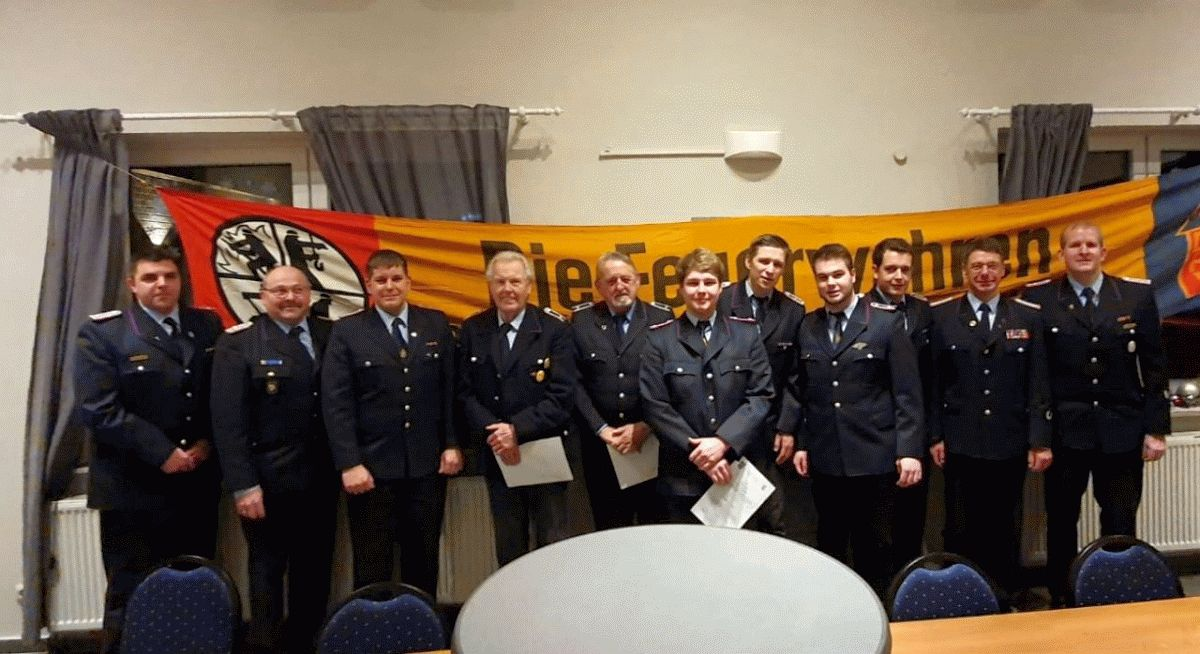 85. Jahreshauptversammlung der Ortsfeuerwehr Hohne