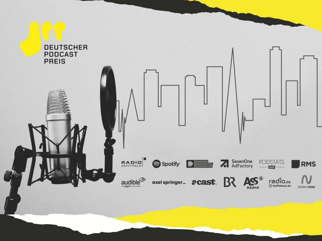 Antenne Niedersachsen mit im Rennen um den Deutschen Podcast Preis