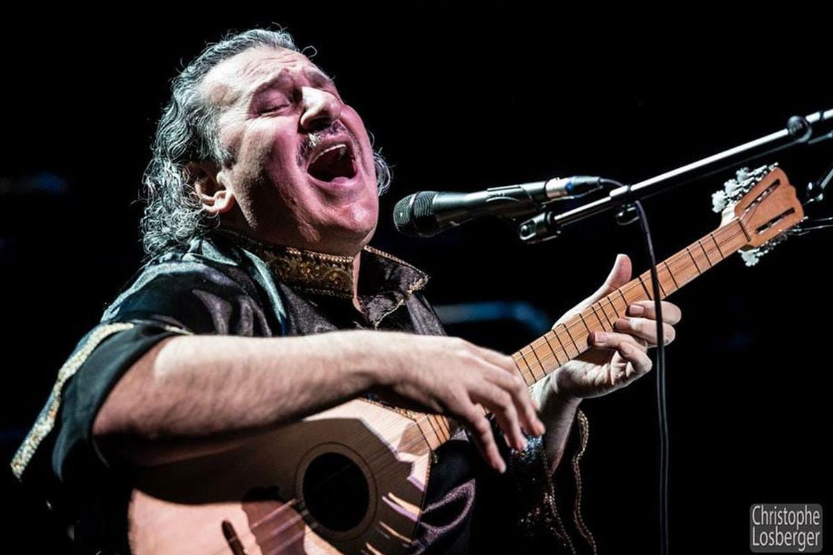Benefiz-Konzert für die Menschen in Nordsyrien (Rojava) am 24. Januar 2020 – Ibrahim Keivo, Weltenmensch und Stimme des Orients