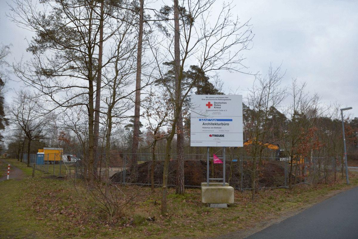 DRK-Rettungswache in Lachendorf – Neu, aber nur provisorisch