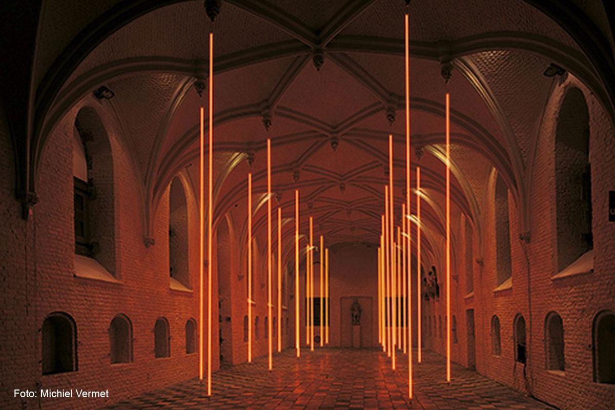 Deutscher Lichtkunstpreis 2020 an Jan van Munster am Sonntag, 19. Januar 2020, im Lichtkunstmuseum