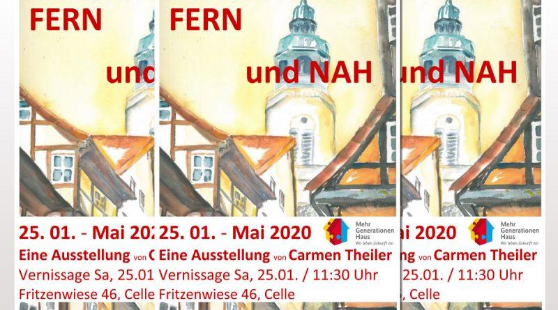 """Ausstellung """"Fern und Nah"""" im Mehrgenerationenhaus"""