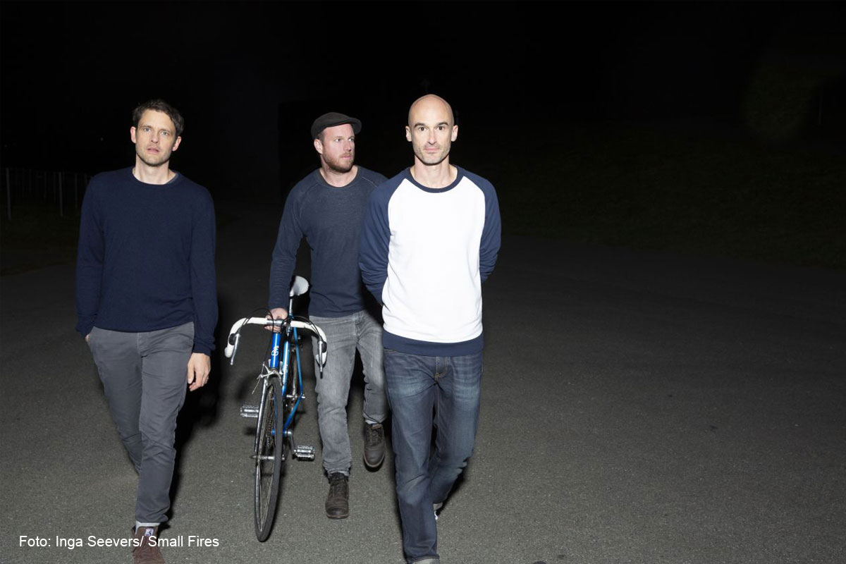 Indie-Pop mit Ambient- Electronic Sound – Small Fires an Bord der ms loretta