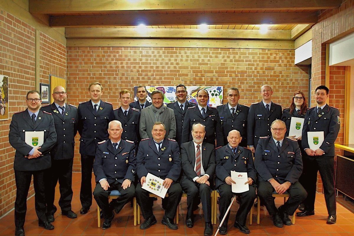 Jahreshauptversammlung 2020 der Ortsfeuerwehr Nienhagen