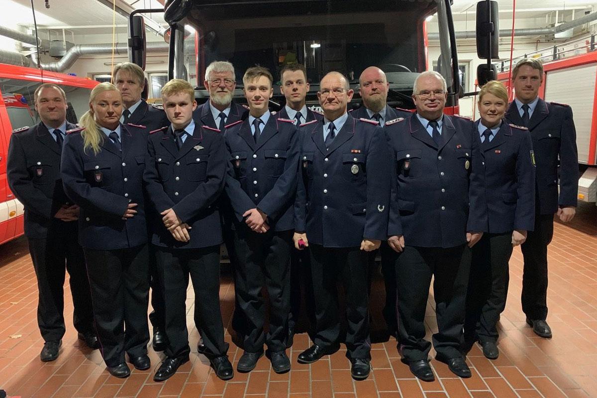 Jahreshauptversammlung der Freiwilligen Feuerwehr Celle – Altenhagen