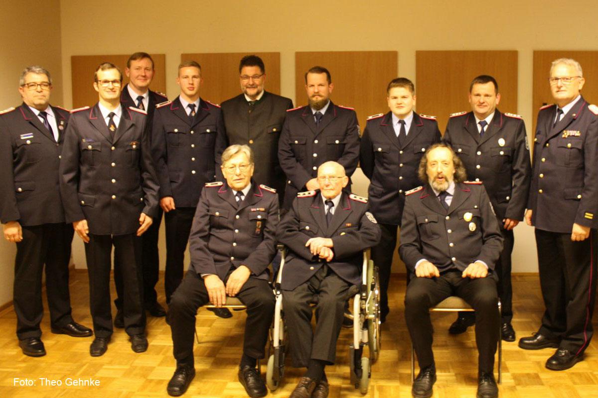 Jahreshauptversammlung der Freiwilligen Feuerwehr Wardböhmen