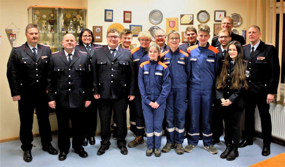 Jahreshauptversammlung der Jugendfeuerwehr Bergen – Tilo Hemme neuer Jugendsprecher-