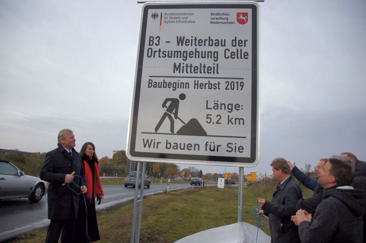 Land und BUND einigen sich im Klageverfahren Ortsumgehung Celle