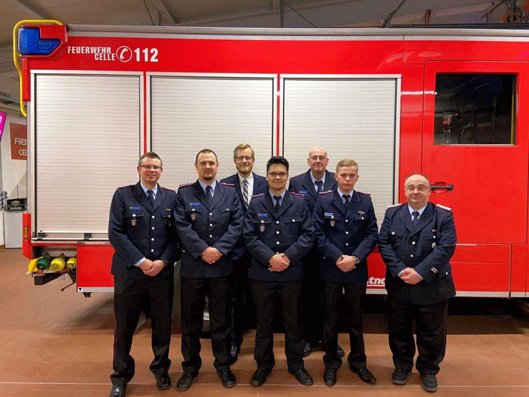 Mitgliederversammlung 2020 der FF Celle – Hustedt