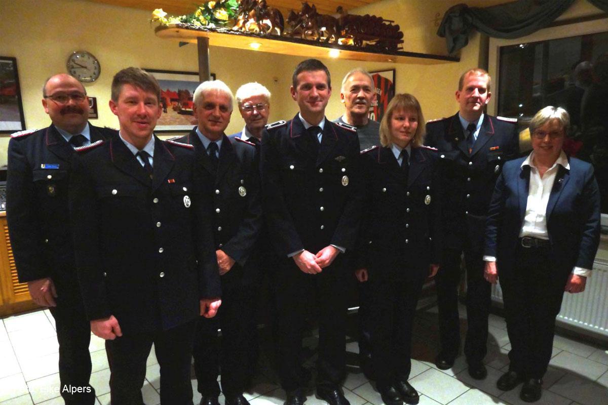 Mitgliederversammlung der Ortsfeuerwehr Helmerkamp – Ehrungen für 25-jährige Mitgliedschaft