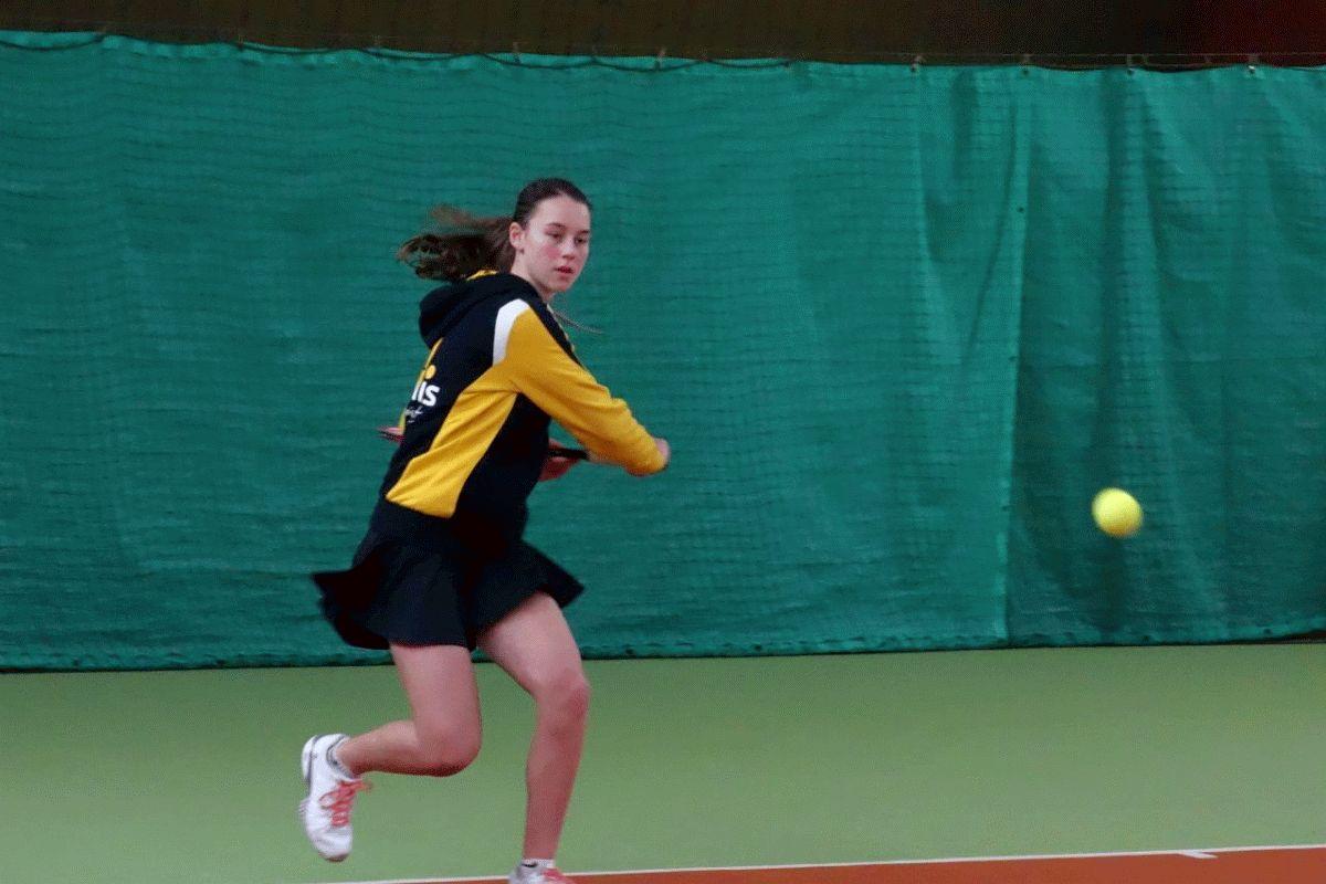 Tennis: Oberligadamen des VfL Westercelle klettern mit Sieg an die Tabellenspitze