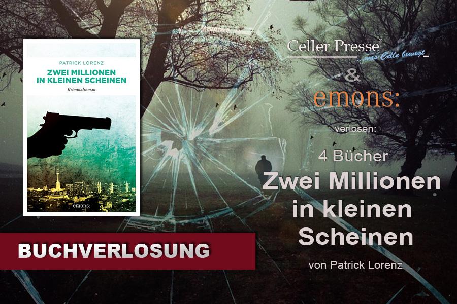"""Buchverlosung """"Zwei Millionen in kleinen Scheinen"""""""