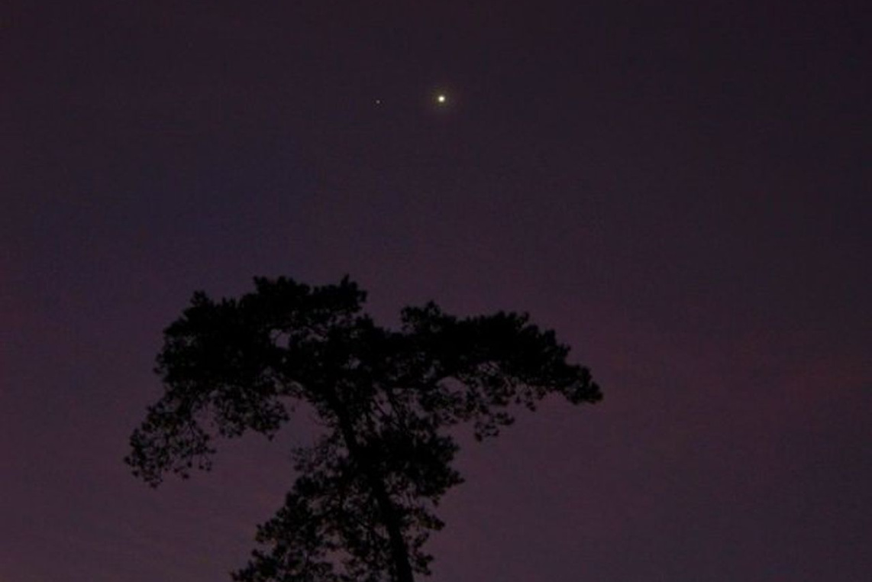 Winterhimmel in der Sternwarte