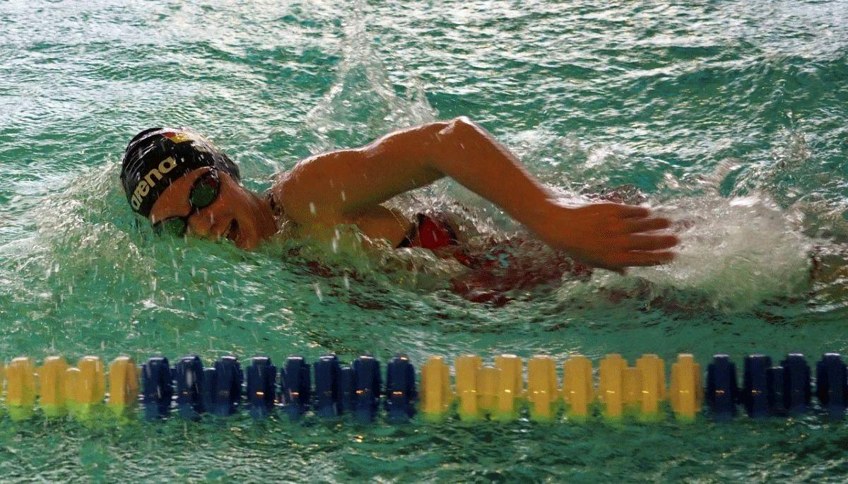 Zwei Dreifacherfolge für die Schwimmerinnen des SV Nienhagen bei den Bezirksmeisterschaften in der offenen Wertung