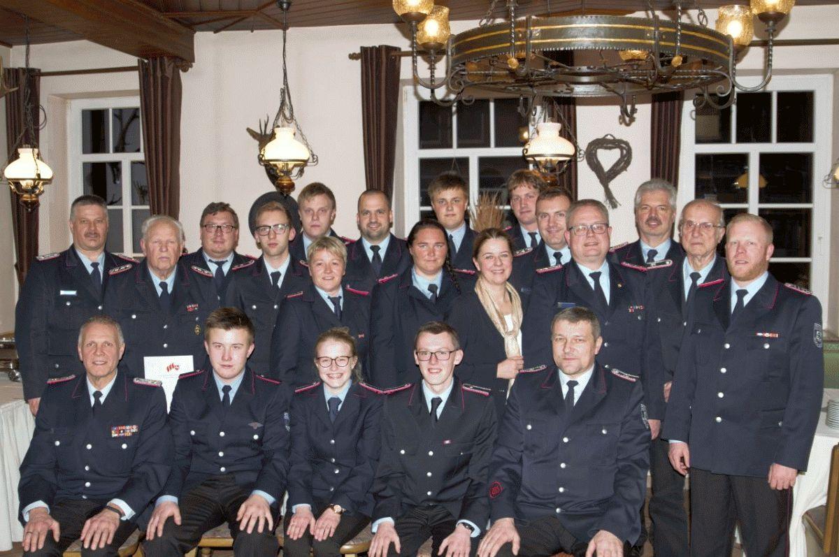 139. Mitgliederversammlung der Freiwilligen Feuerwehr Bergen