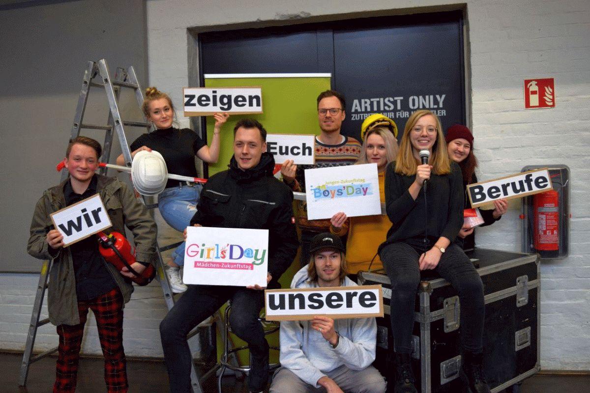 Artists only – Nicht am 26. März 2020 – Anmeldestart zum Zukunftstag in der CD-Kaserne