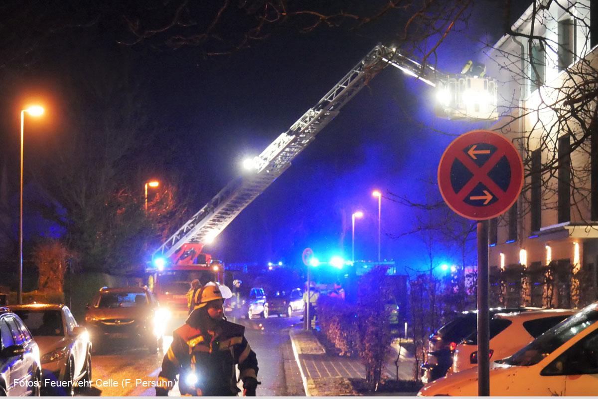 Großeinsatz: Feuer im Seniorenwohnheim in der St.-Annen-Straße *** aktualisiert