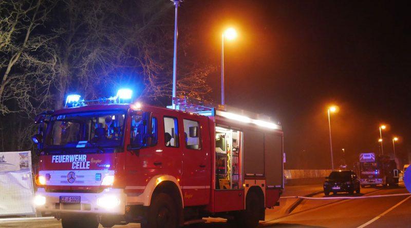 Feuer in einer Tiefgarage