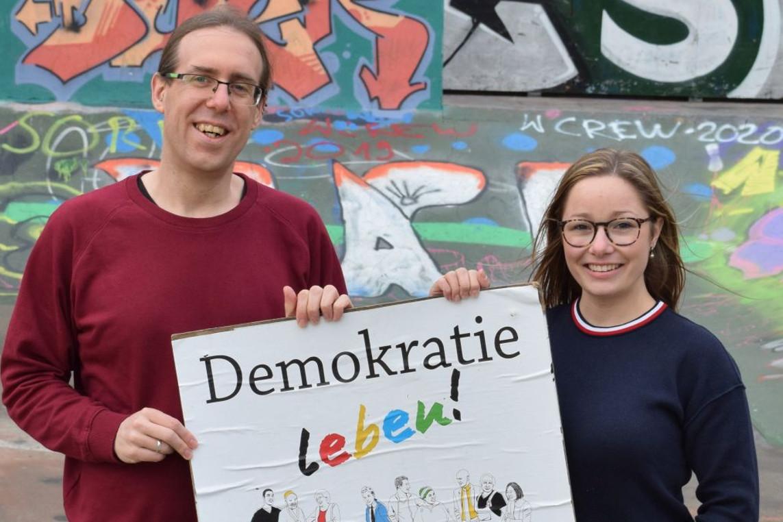 Frist läuft am Sonntag ab: Jetzt noch Antrag für Demokratie-Leben-Projekt einreichen