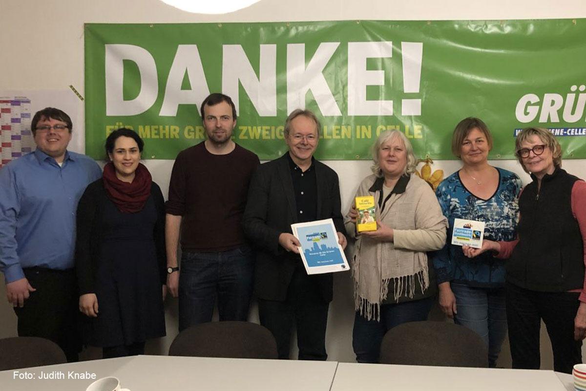 Grünes Büro erhält Fairtrade – Auszeichnung