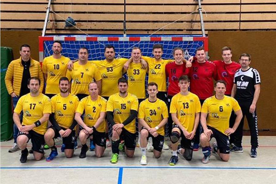 IKK classic unterstützt Handballmannschaft des VfL Westercelle