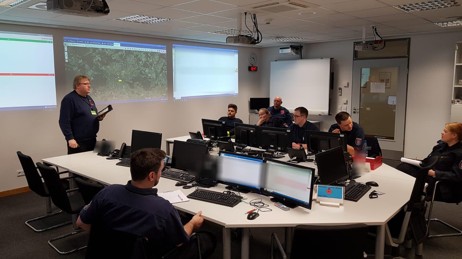 Sturmtief Sabine – Feuerwehr Celle trifft vorbereitende Maßnahmen – erste Einsätze laufen!