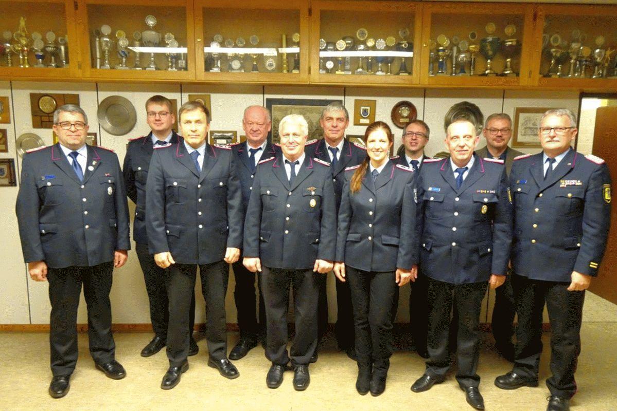 Jahreshauptversammlung Freiwilligen Feuerwehr Hassel 2020 – Wilfried Heins und Maike Warnecke sind neues Führungsduo