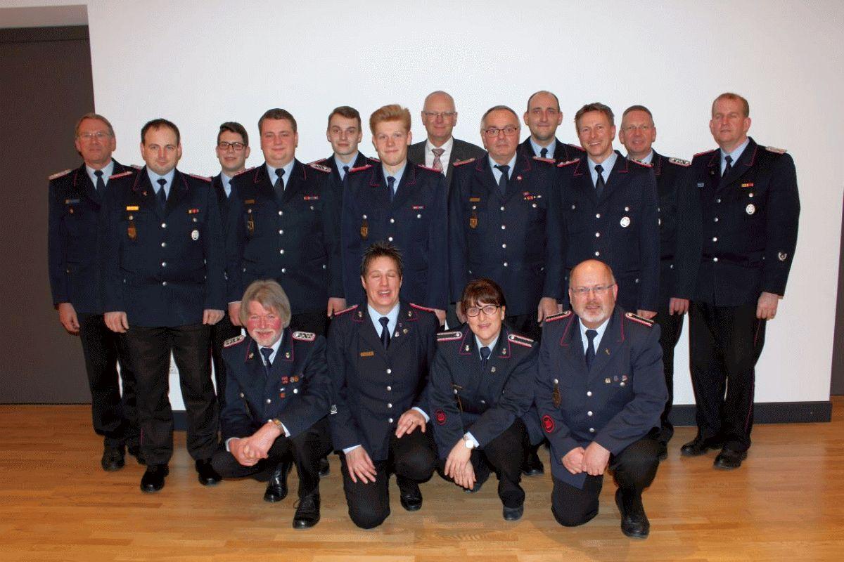 Jahreshauptversammlung der Freiwilligen Feuerwehr Beedenbostel
