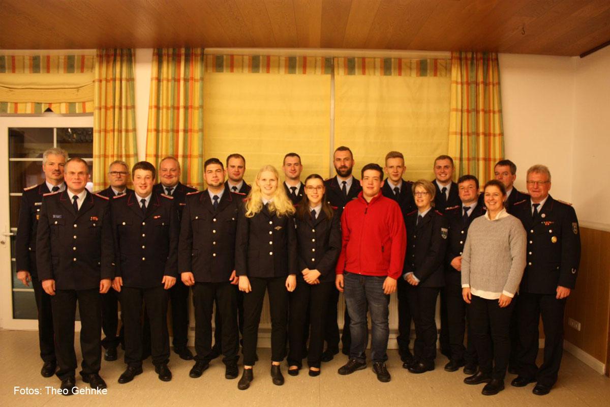 Jahreshauptversammlung der Freiwilligen Feuerwehr Offen 2020