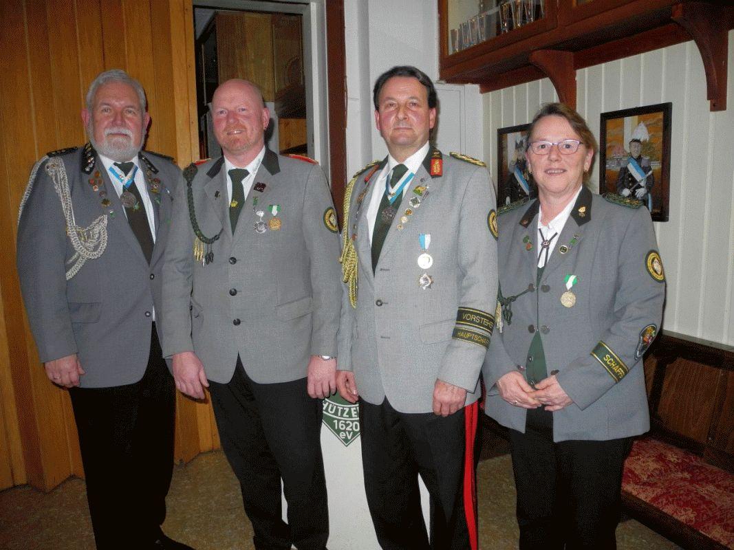 Jahreshauptversammlung der Neustadt-Altenhäusener Schützengesellschaft