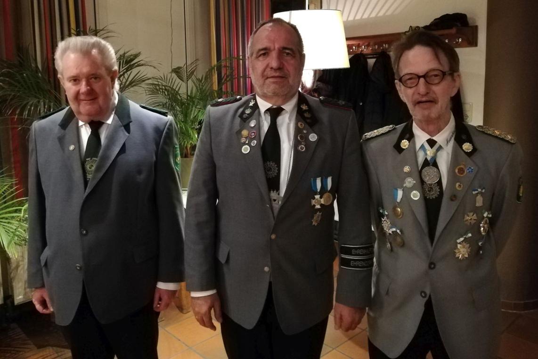 Jahreshauptversammlung des Schützencorps Neuenhäusen