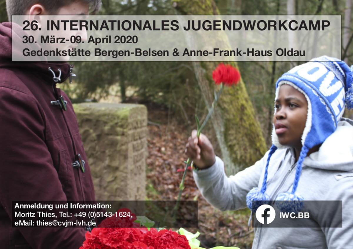 Mach mit beim Internationalen Jugendworkcamp Bergen-Belsen