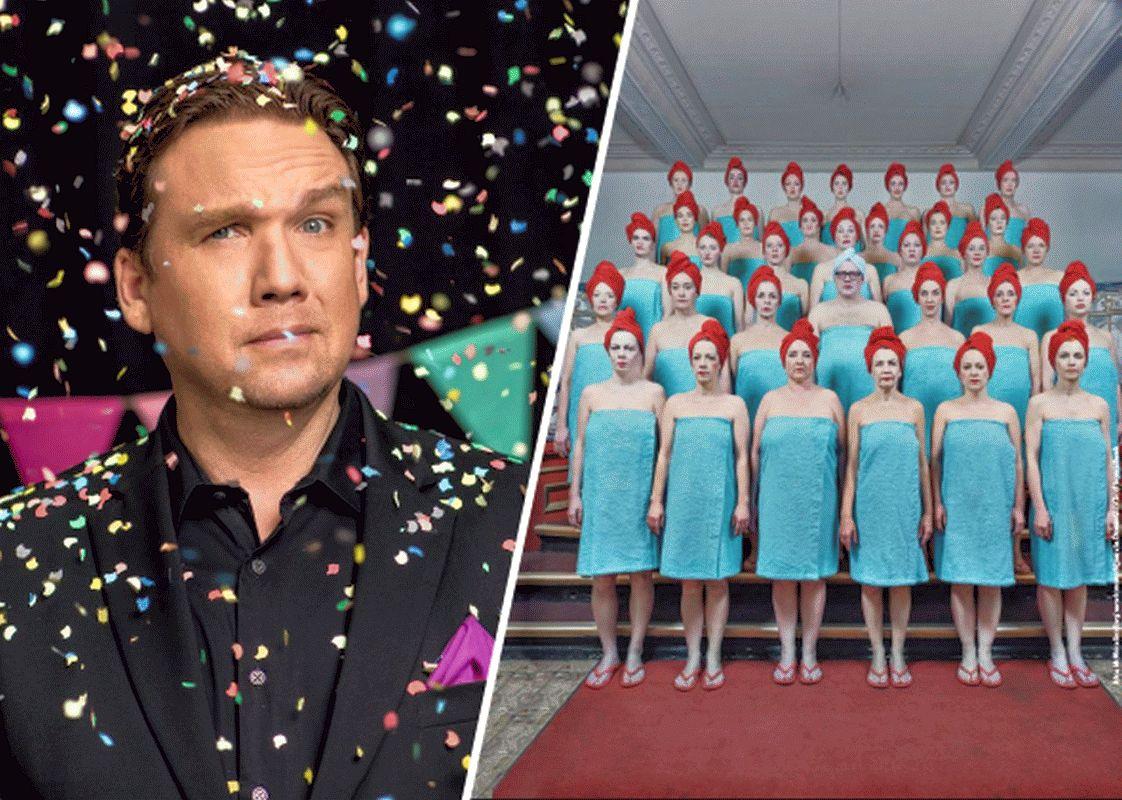 Matthias Brodowy singt & trinkt mit dem DamenLikörChor