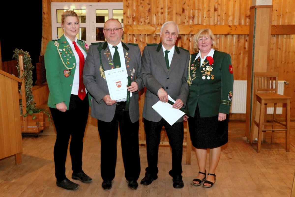 Mitgliederversammlung beim Schützenverein Garßen