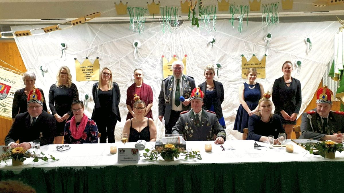 Schützenball in Winsen: Majestäten wurden gekrönt