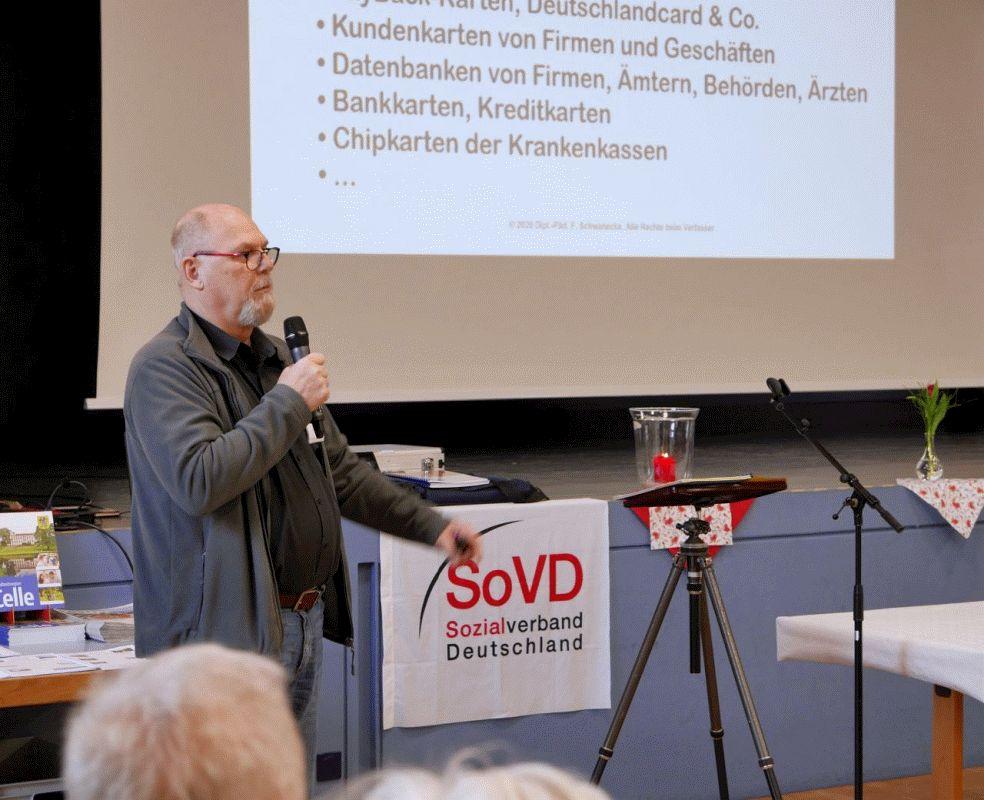 Selbstbestimmt in Internet – Digitaler Nachlass war Thema beim Info-Nachmittag des SoVD Ortsverbandes Nienhagen