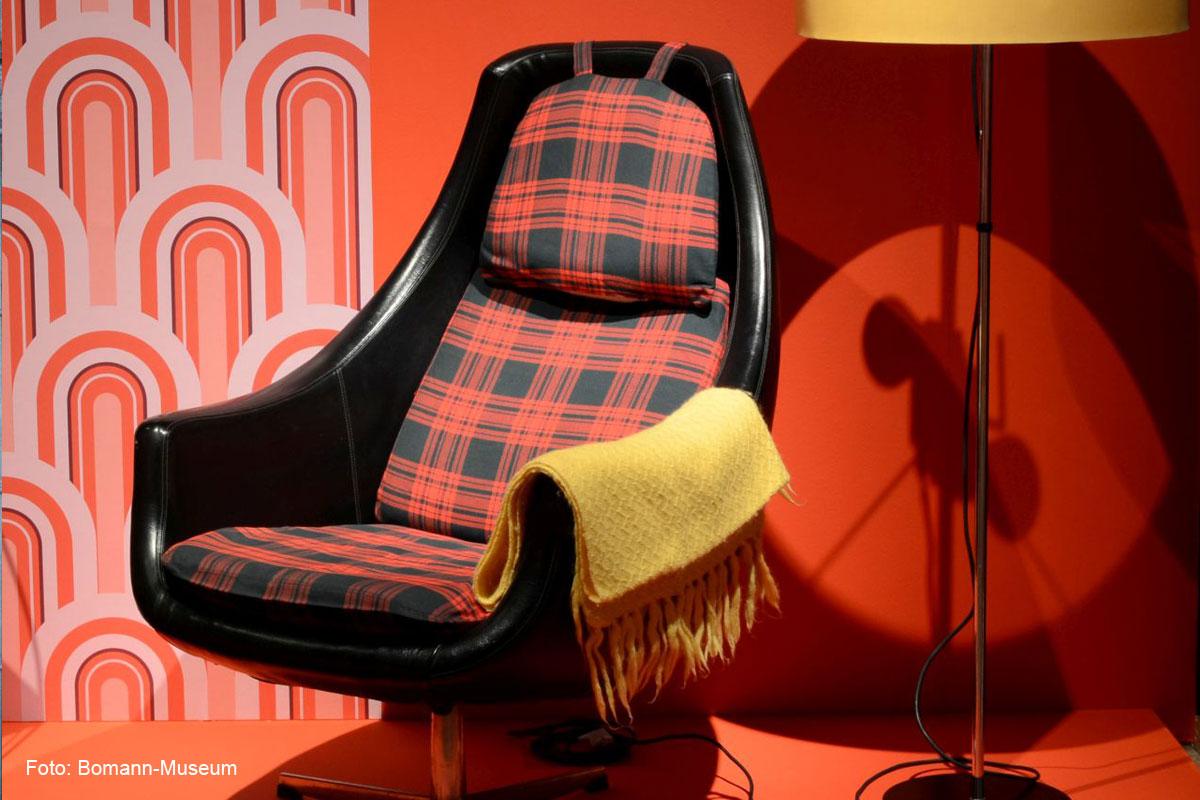 So leb ich – Wohnkultur in den 1960er Jahren – Museums-Melange im Bomann-Museum zeigt Möbelwelten der 60er