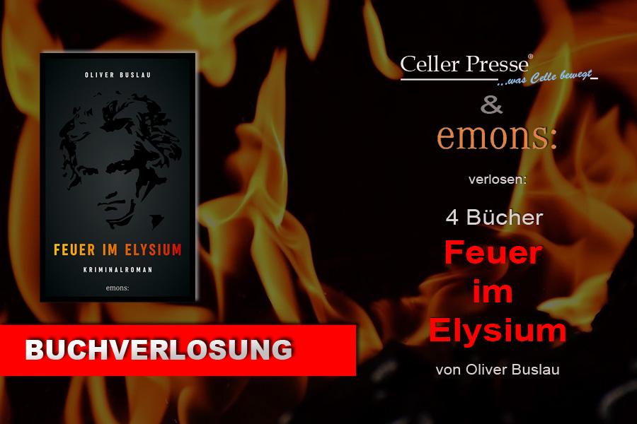 "Buchverlosung ""Feuer im Elysium"""