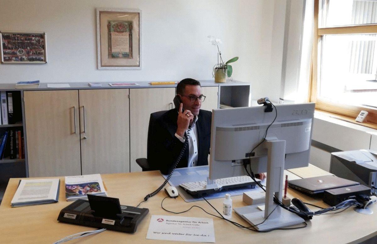 Agentur für Arbeit: Sven Rodewald im Gespräch
