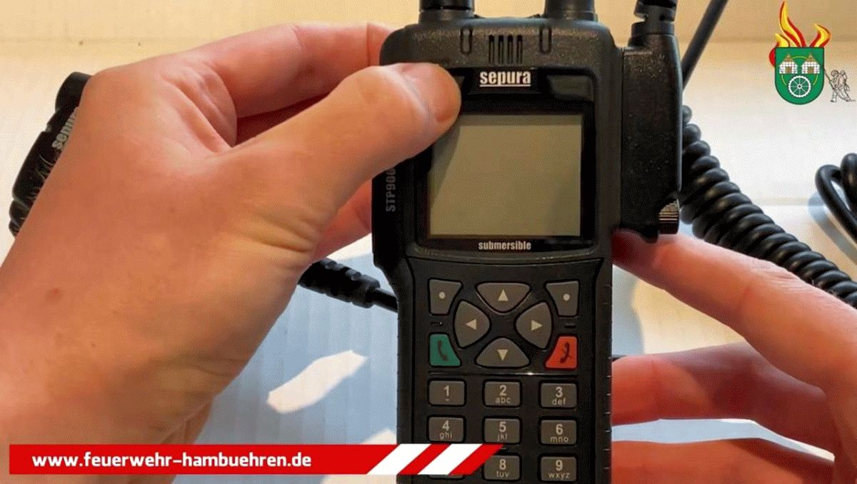 Feuerwehr Hambühren schult digital