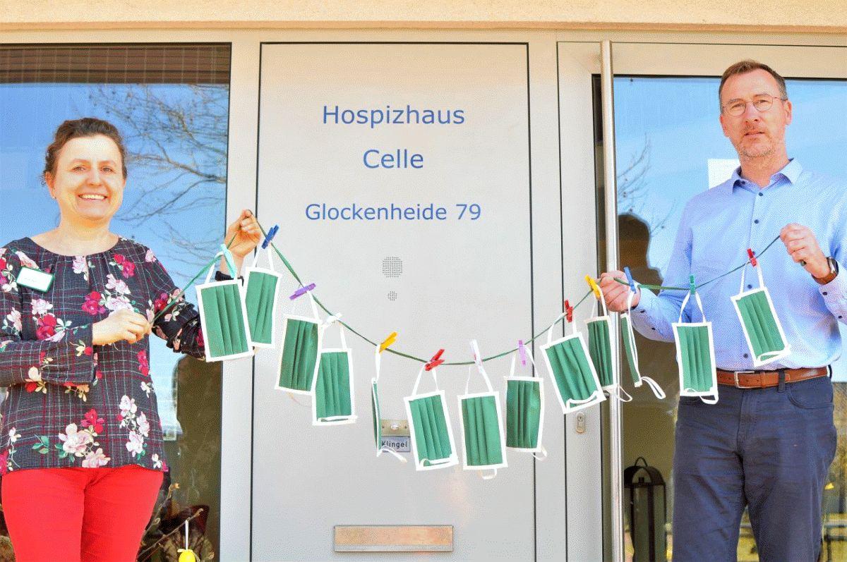 Lobetal spendet Atemschutzmasken für das Hospizhaus