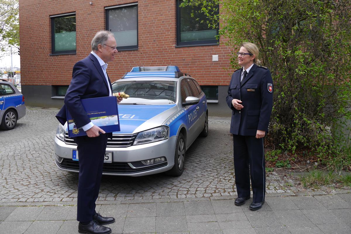Ministerpräsident dankt der Polizei