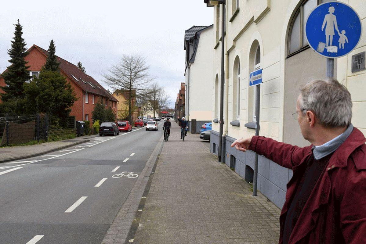 Neuenhäusen erhält erste Fahrradstraße